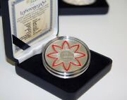 Georgia 20 Lari 2015 20th Anniversary Currency Silver Proof Top Collector Coin
