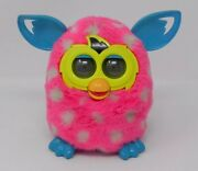Furby Boom Plush Electronic Toy Hot Pink With White Polka Dots 2012 Hasbro Works