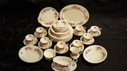 Royal Albert Lavender Rose Place Settings For 8 - Complete Set Of 48 Pieces