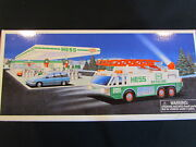 Hess Holiday Toy Truck 1996 Emergency Truck With Search Light New In Box