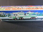 Hess Holiday Toy Truck 1995, Toy Truck And Helicopter, New In Box