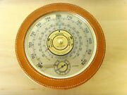 Very Rare - Jaeger Vintage Barometer Thermometer - Item For Collectors