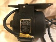 Antique Vintage Dictaphone Universal Ac Motor 250 Or Less Volts 50-80watts Works