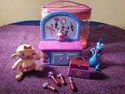 Doc Mcstuffins Mini Clinic Playset With Lammie Stuffy Talking Singing Andtote