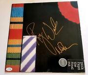 Pink Floyd Autographed X2 Album Record Lp Roger Waters Acoa