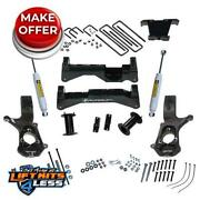 Superlift K180 6.5and039and039 Lift Kit For Cast Steel Control Arm 2007-2016 Gm 1500 2wd