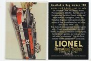 1x Lionel Trains 1998 Duocards 2 Of 2 Promo Sample Prototype Lots Available