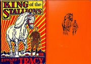 King Of The Stallions 1947 Illustrated By Paul Brown W/ Pencil Remarque Horse