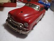 Schuco Germany Red Ingenico Patent Buick Tinplate/wind-up 220-mm