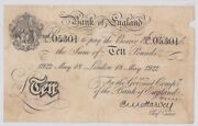 Great Britain 10 Pounds 1922 Km 313 29746
