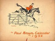 The Paul Brown Brooks Brothers Calendar For 1954
