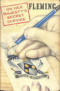And039on Her Majestyand039s Secret Serviceand039 By Ian Fleming Jonathan Cape Uk 1st Edition