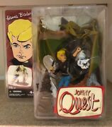 Hanna Barbera Jonny Quest And Bandit Action Figure By Mcfarlane Toys