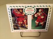 Vintage 1993 Coca Cola Playing Cards Double Deck In Collector Tin Mint