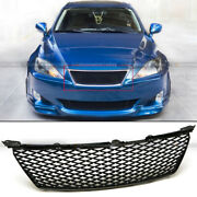 Fit 06 07 08 Is250 Is350 Honeycomb Badgeless Mesh Isf Style Front Hood Grille