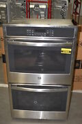 Ge Jt5500sfss 30 Stainless Double Wall Oven Nob 37903 Mad
