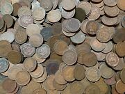 Indian Head Cents, 100 Count Lot, 1880's-1900's Nice And Better Grade
