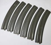 Marklin 24230 C Track, R2 Curves 30º, Six New Unboxed W Super Fast Us Shipping