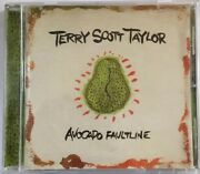 Terry Scott Taylor Avocado Faultline Cd Signed By Tstaylor And Phil Madeira