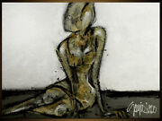 Modern Art - Original Woman Painting By S.lazo Andndash Made To Order - 36 X 48
