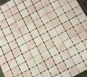 12x12 Dal Tile Meshed 3x3 Floor Blush Mist Wall Meshed Ceramic 864 Sq. Ft.