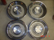 70 71 Ford Mustang Mach 1 Torino Cyclone Trim Beauty Ring Center Hubcap Look Nos