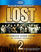 Lost The Complete Second 2nd Season 2 Two 6-disc Blu-ray English French Spanish