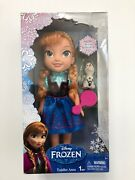 Disney's 2013 Frozen Anna Doll Toddler Olaf Snowman Frozen Age 3 And Up New