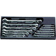 Ktc Nepros Combination Wrench 12-point 12 Pieces Set 5.5-24mm Ntms212 From Japan