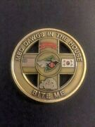 8 Medical Squadron Med Dawg In House Bite Me  Challenge Coin
