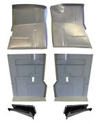 Oem 73 87 Chevy 6pc Extended Floor Pan And Oem Floor Support Kit Gmc Truck Blazer