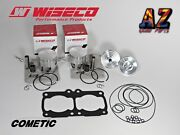 Banshee Athena Big Bore Cylinders 421cc Stroker Wiseco Pistons Domes Conversion