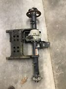 Oem Good Used 2002 Can Am Quest 650 Complete 4x4 Rear End Differentialaxlehubs