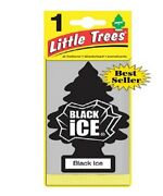 Little Trees Black Ice Tree Air Freshener Home/car Scent 12-24-48-96-144 Pack.