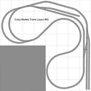 Train Layout 040 Dcc Bachmann Ho Ez Track Nickel Silver - 8and039 X 8and039 L - Train Set