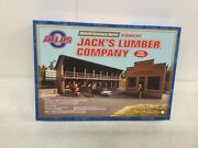 Atlas 6907 Hillside Structure Series Jack's Lumber Co Kit O Scale Unopened Box