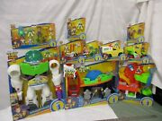 Imaginext Disney Toy Story 4 Pizza Planet Truck Buzz Robot Carnival Collection