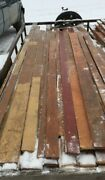 Genuine Antique Pine Wide Plank Tongue And Groove Flooring 450 Sq Ft Old 82-19c