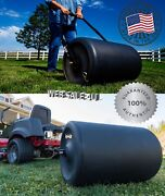 Tow Behind Lawn Roller Push Yard Grass Care Tractor Attachment Poly Water 250lb