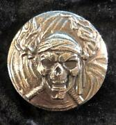 15 Troy Oz. Mk Barz Buccaneer- Limited To 500 Only Sand Cast Round