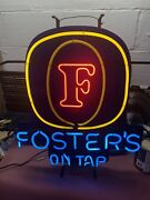 Fosters Neon Sign