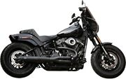 Sands 550-0789b Black W/ Black Tips 50-state Superstreet 2-in-1 Exhaust M8 Fat Bob