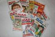 Mad Magazine Super Special Lot Number 16,17,18,19,20,23,25,26 And 27. Mint Cond.