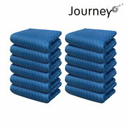 12heavy-duty Moving Blankets Ultra Thick Heavy Duty 65lb/dz 80x72 Furniture Pads