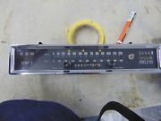 Rover Tc Dash Cluster Condition Unknown Use For Parts Or As A Core For Rebuild