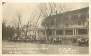 Rppc Hudson And Overland Automobiles, Henniker Nh Sold By Fh Messer, Bradford Nh