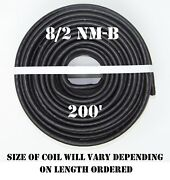 8/2 Nm-b X 200and039 Southwire Romexandreg Electrical Cable
