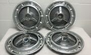 1965-66 Chevrolet Impala Spinner Accessory Hubcap Chevy Wheel Covers 14 Wheel