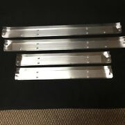 1958 Edsel Interior 4-door Sill Scuff Plates Etched As Original Set Of 4 New