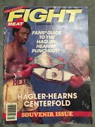 Fight International Boxing Guide May 1985 Hagler-hearns Souvenir Issue